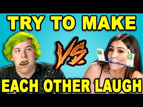 Try To Make Each Other Laugh Challenge React
