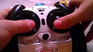 Игрушечный радиоуправляемый вертолет Syma s107g на пульте – видео обзор
