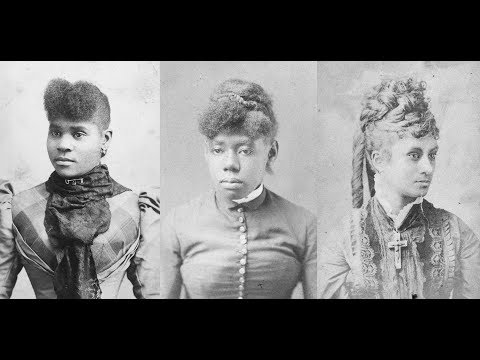Vintage Photos of African American Women From the 1880's