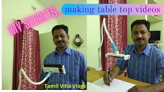 #tamilvillavlogs My Secrets..!Making table top videos/Tamil Villa Vlogs/Saravanan J