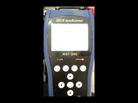 Tutorial scanner speda motor universal mst 500 14 in 1.. to beat fi