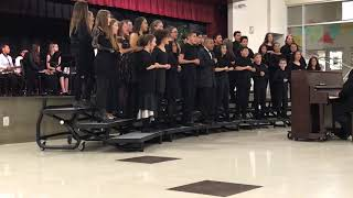 Fall 2018 South Meadows Middle School Choir Performance #1