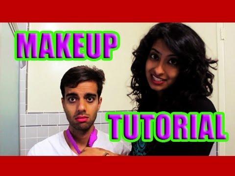 Girl Does Boy S Makeup Pinky Rupesh