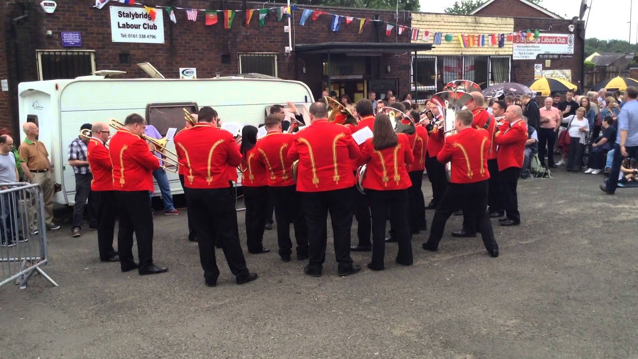 The President - Foden's Band- Whit Friday 2014 - Stalybridge