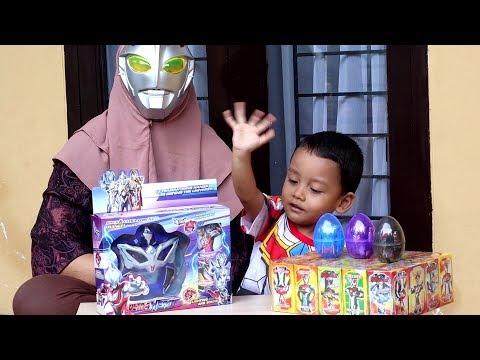 Buka Kotak Surprise Ultraman, Telur Teluran Ultraman, & Alat Perubahan Ultraman