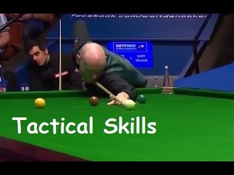 Ronnie O'Sullivan v Gary Wilson | Great Tactical Frame Ending