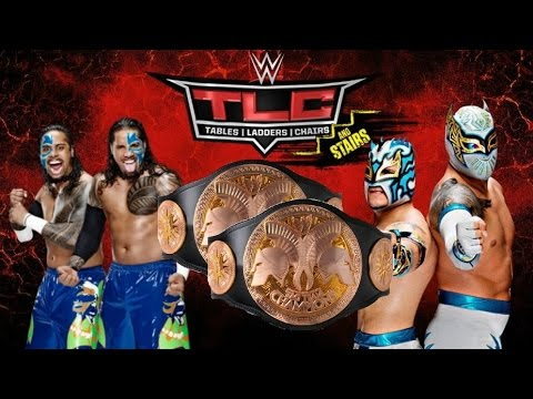 WWE 2K16 Tag Team Tournament-The Usos V The Lucha Dragons