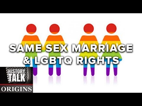 The Debate Over Same Sex Marriage and LGBTQ Rights (a History Talk podcast)