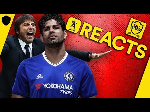 OFFICIAL: CHELSEA AGREE DIEGO COSTA MOVE TO ATLETICO MADRID | ft CFC FANTV | BALL STREET REACTS