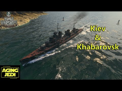 Soviet Destroyer Previews: Kiev & Khabarovsk - World of Warships