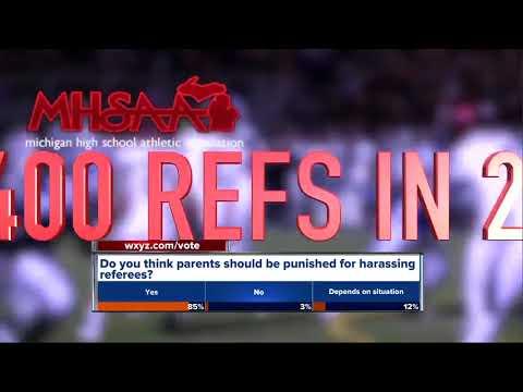 Growing shortage of referees in metro Detroit