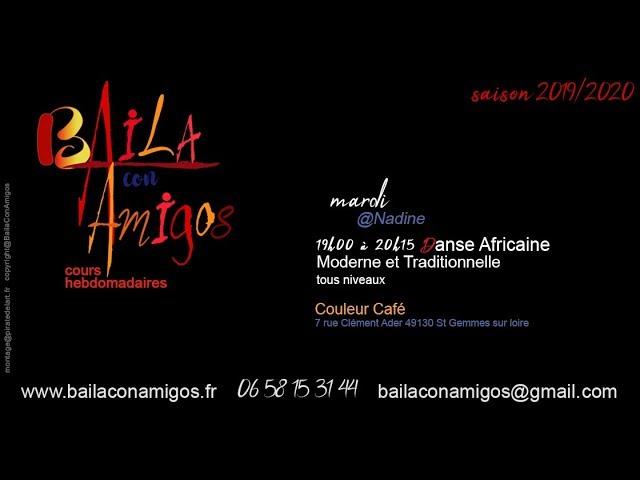 Baila con Amigos - cours danse africaine
