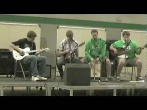 This Side-Nickel Creek (Cover) Hill Murray Talent Show 2012 - YouTube