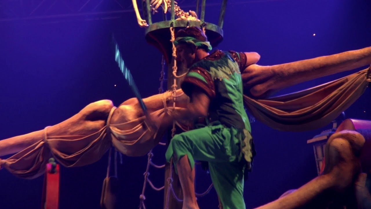 Peter Pan Scene 4 - YouTube