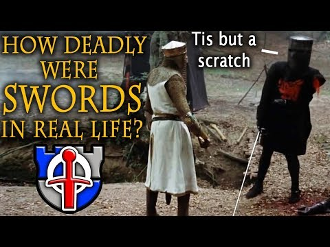 How DEADLY were swords in real life?