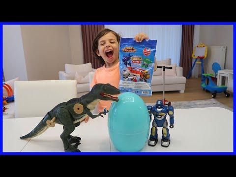 Harika Kanatlar Sürpriz Yumurta ve Paketi Açtık | Sürpriz Yumurtalar | Prens Yankı