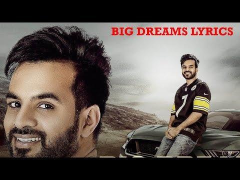 Big Dreams Lyrics Video - Happy Raikoti | Deep Jandu | Punjabi Song