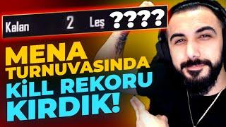 RÜYA TAKIMLA MENA TURNUVASINDA KİLL REKORU KIRDIK!! | PUBG MOBILE