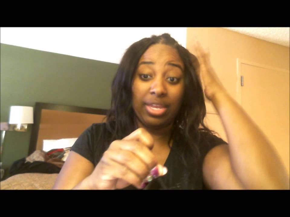 How To Cut Your Hair Extension Weft To Stop Shedding Youtube