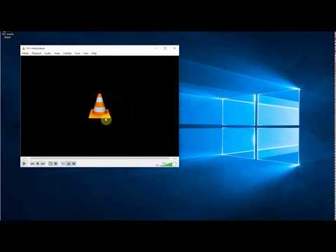 How to play an m3u file with vlc media player