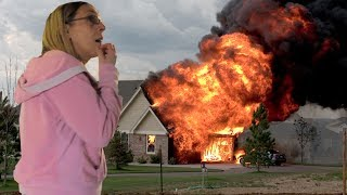 Burning My Moms House Down
