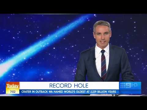 Perth Observatory's Matt Woods On Channel 9 Perth's Today News