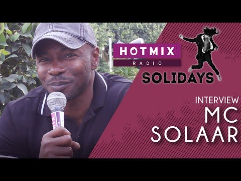 Solidays | MC Solaar Interview Hotmixradio