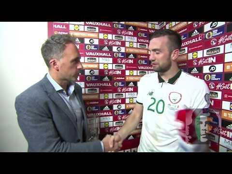 Shane Duffy post match interview Wales 0-1 Ireland