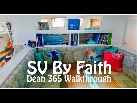 Sailing By Faith - Dean 365 Catamaran Walkthrough