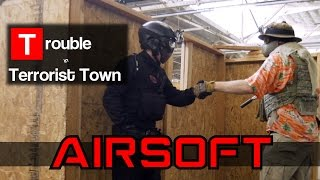 Airsoft Trouble in Terrorist Town - CROOKED COP