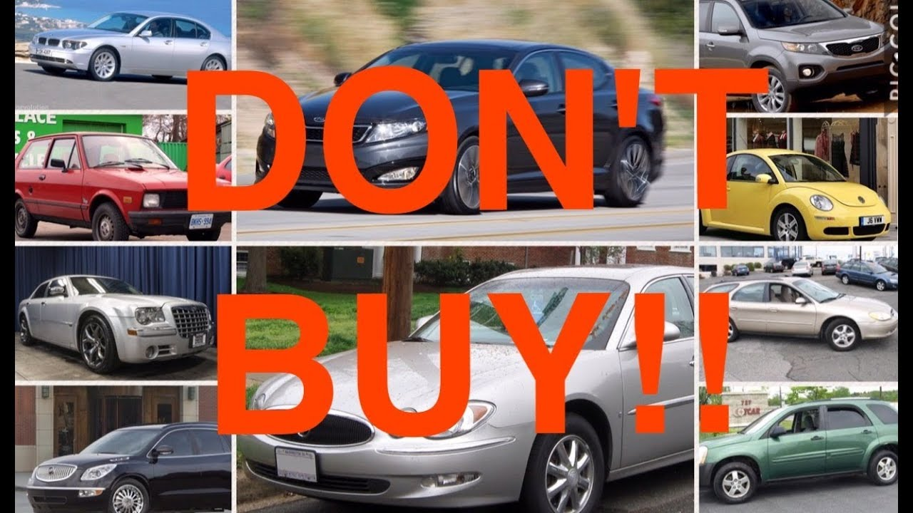 10 Used Cars You Should NEVER Buy (PART 6) - YouTube