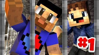 WE'RE IN JAIL! - Minecraft PRISONS #1 w/ Woofless
