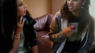 "Malese Jow And Chelsea Tavares Sing ""california Gurls"" On Ustream - June 7, 2010"