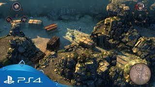 Shadow Tactics: Blades of the Shogun | Gameplay Trailer | PS4
