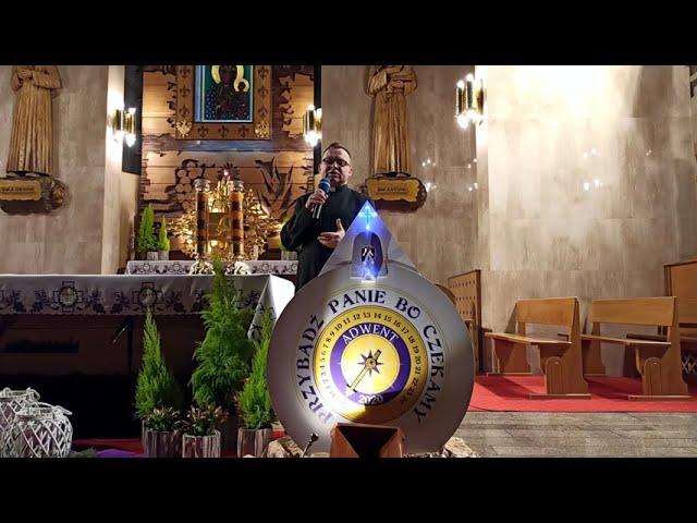 Roraty 2020 [#0] - zaproszenie parafia św. Antoniego w Zduńskiej Woli