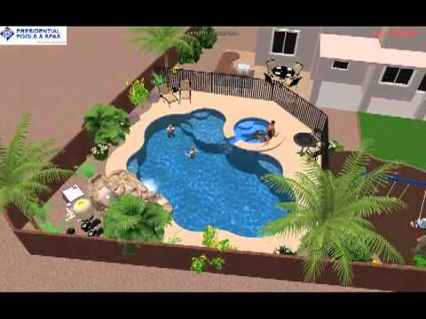 Custom pool and backyard design by noah ingeneri of for Pool design tucson