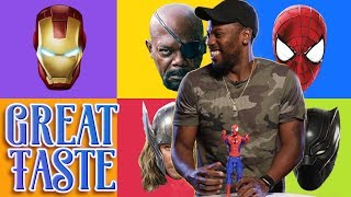 The Best Marvel Superhero | Great Taste