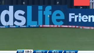 1 Over 38 Runs By Scot Styris