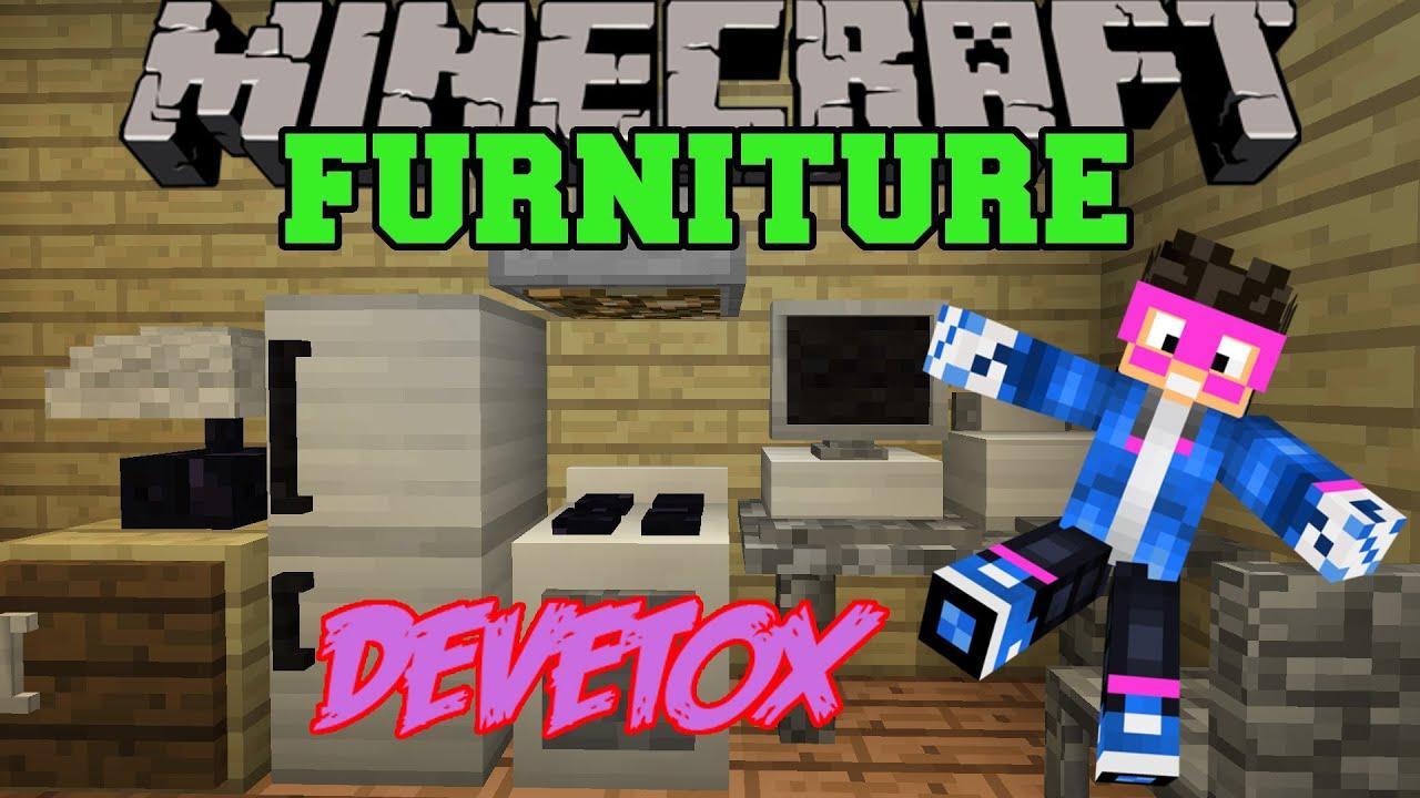 Minecraft 1 y 1 8 mod decoraci n de casas furniture for Casas de sofas en sevilla