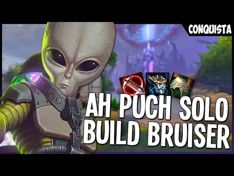 AH PUCH SOLO   RANKED CONQUISTA   SMITE BRASIL ft. Zurigui