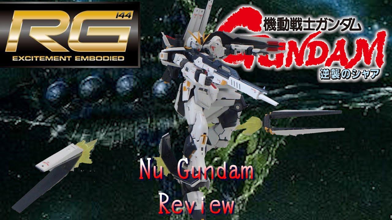 RG Nu Gundam Review