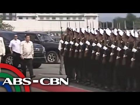 Duterte visits Russian warship