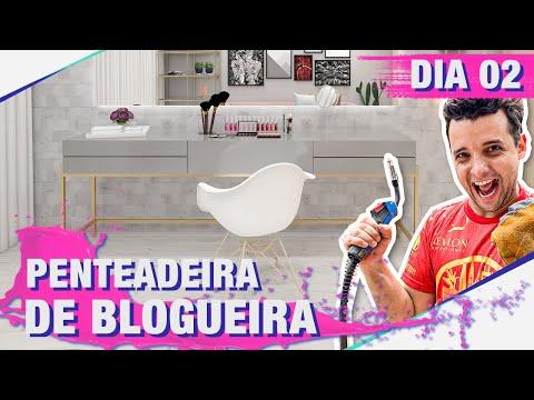 PENTEADEIRA PINTEREST DO BEAUTY ROOM DA JANAMAKEUP PARTE 1/3 I DIARIO DE REFORMA DIA 02