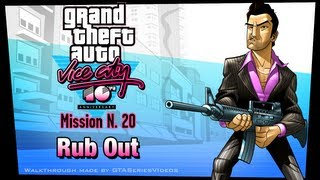 GTA Vice City - iPad Walkthrough - Mission #20 - Rub Out