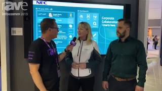 UCWorkspace's Angela & NEC Display's Gunnar Talk New Platinum Partnership