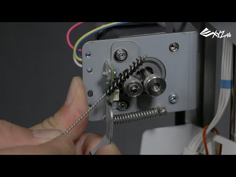 da Vinci Jr. 1.0 - Drive Gear Cleaning