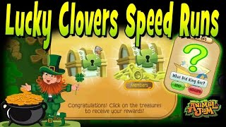 Today I do some Lucky Clovers speed runs on a mission to find some ...