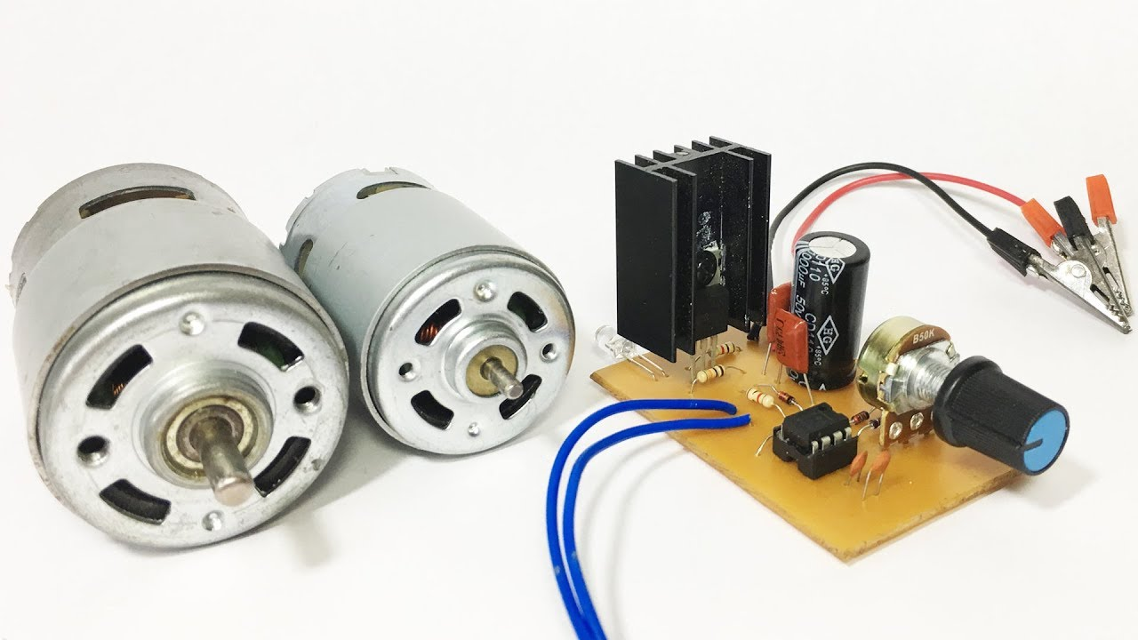 How To Make A Dc Motor Speed Controller Circuit   Pcb Design