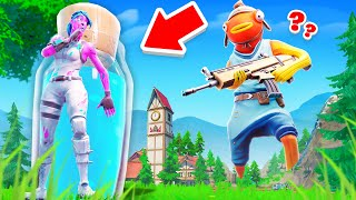 Going TINY to Cheat in Hide & Seek… (Fortnite)