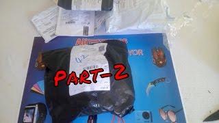 Aliexpress'ten Gelen Toplu Siparişlerim Paket Açılımı Unboxing Part-2